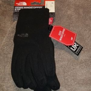 North face gloves unsex xlg